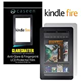 caseen 2x GLARESHATTER Anti-Glare Screen Protectors for Amazon Kindle Fire Non-HD 1st Generation