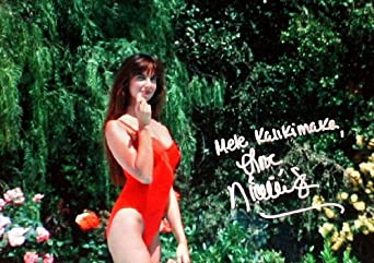 NICOLETTE SCORSESE Autographed/Signed Christmas Vacation 8x10 Movie