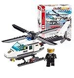 #4: Fun Growth Store J306 New Arrival 102pcs Aircraft Airplane Model Building Blocks Plane Aeroplane DIY Educational Toys