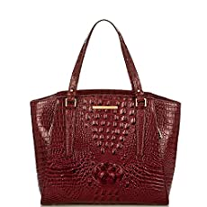 Paris Business Tote<br>Carmine Red Melbourne