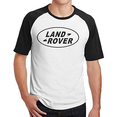 Men's Land Rover Logo Short Sleeve O Neck Raglan T Shirt (Land Rover Lifter compare prices)