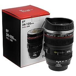 Flintstop Camera Lens Coffee Mug