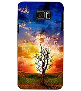 SAMSUNG GALAXY NOTE 5 TREE Back Cover by PRINTSWAG