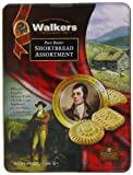 Walkers Shortbread Assortment Robbie Burns Tin 300 g
