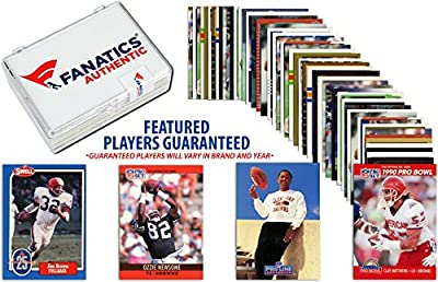 Cleveland Browns Team Trading Card Block/50 Card Lot - Fanatics Authentic Certified - Football Team Sets