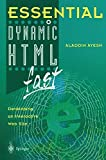 img - for Essential Dynamic HTML fast (Essential Series) book / textbook / text book