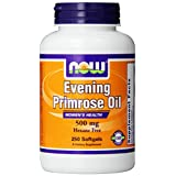 NOW Foods Evening Primrose Oil 500mg, 250 Softgels, (Packaging may vary)