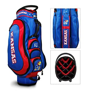 Brand New Kansas Jayhawks NCAA Cart Bag - 14 way Medalist by Things for You