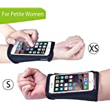 Avantree Wrista (2 Pack: Size XS + Size S For Petite Women), Wristband / Forearm Armband For IPhone 6s/ 6/ 5s/...