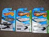 Hot Wheels 3 Star Trek ships! USS Enterprise with and without Battle Damage and the USS Vengeance!