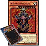 YuGiOh : GLD5-EN027 Limited Ed Master Hyperion Gold Rare Card - ( Gold Series 5 - The Haunted Mine Yu-Gi-Oh! Single Card )