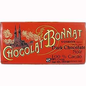 Chocolat Bonnat - 100% Cacao - Dark Chocolate Bar