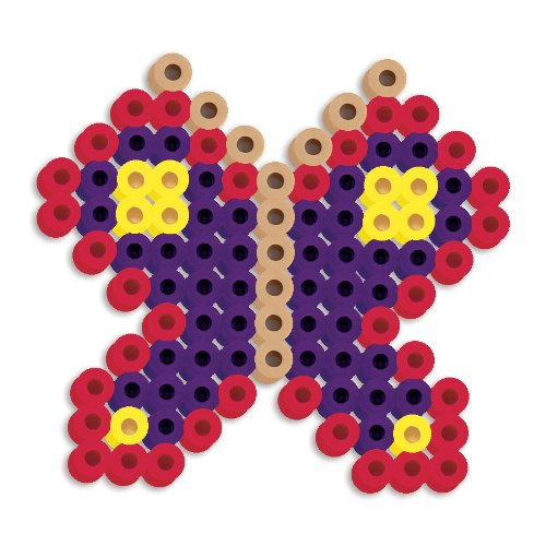 Perler Beads Silicone Pegboard Fused Bead Kit - Butterfly - 1