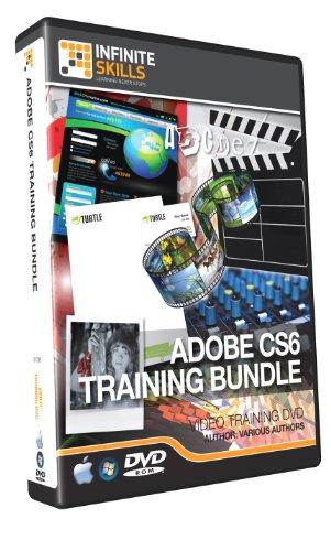 Discounted Adobe CS6 Training Bundle - 9 DVD Set (PC/Mac)