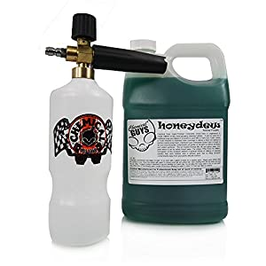 Chemical Guys EQP_312 TORQ Professional Foam Cannon and Honeydew Snow Foam Cleanser - 1 Gallon by Chemical Guys