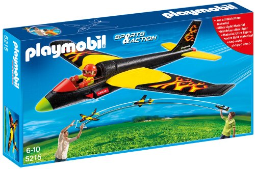 Playmobil Fire Flyer Plane front-922671