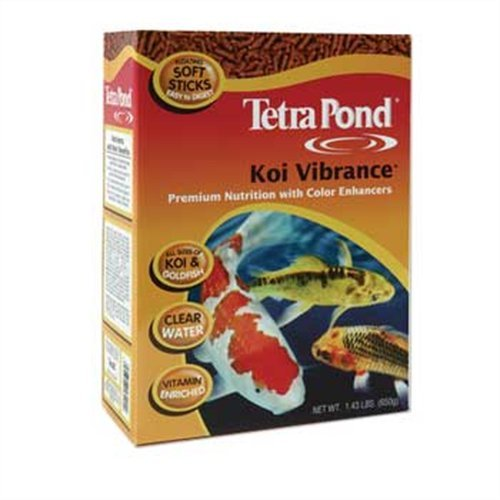 Tetra 16486 Koi Vibrance Sticks Floating Fish Food, 5-1/4-Pound