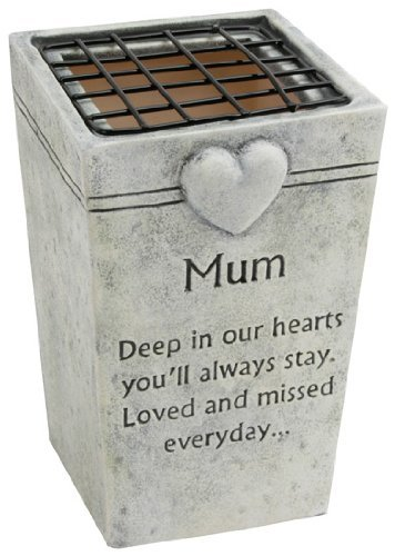 Graveside Memorial Ornaments - MUM Grave Flower Pot Holder
