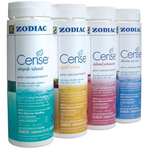 4) New Zodiac NATURE 2 Spa Cense Non Chlorine Shock & Aromatherapy Spa Pack (Nature 2 Cense compare prices)