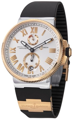 Ulysse Nardin Marine Chronometer Manufacture Men's Rose Gold Automatic Watch 1185-122-3/41
