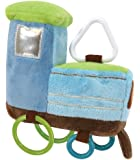 Stephan Baby Going Places Ultra Soft Plush Activity Toy, Train