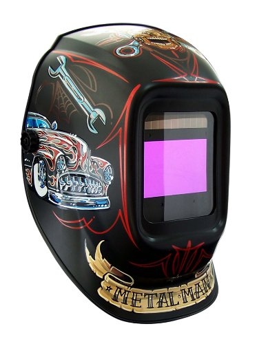 Metal-Man-ABR7800SG-9-13-Variable-Shade-Industrial-Auto-Darkening-Welding-Helmet-Bad-Rod-Graphics