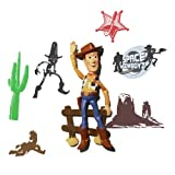 Wallables 3D Wall Décor - Woody from Disney / Pixar Toy Story 1, 2 and academy award winning Toy Story 3, 3 Dimensional Soft Foam Toy Wall Décor, Now with Bonus repositional decals!