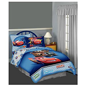 Disney Cars 4pc TWIN BEDDING SET, Comforter, Sheets, 3 PC Sheet Set, NEW, Disney