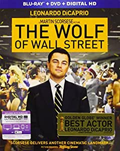 The Wolf of Wall Street (Blu-ray + DVD + Digital HD)