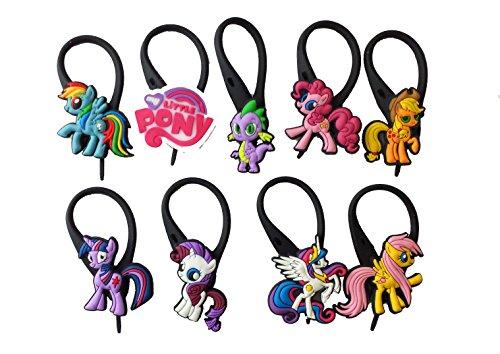 AVIRGO 9 pcs Soft Zipper Pull Charms for Backpack Bag Pendant Jacket Set # 87-3