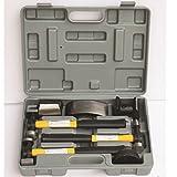 HFS (Tm) 7 Pcs Set Auto Body Fender Repair Tool Hammer & Dolly Set