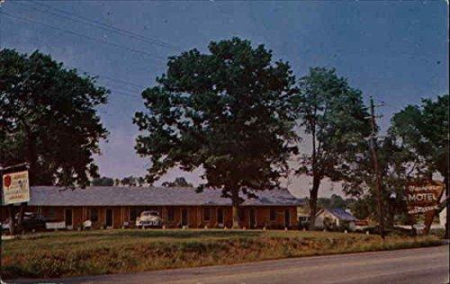 Nashboro Motel & Restaurant Goodletsville, Tn Original Vintage Postcard