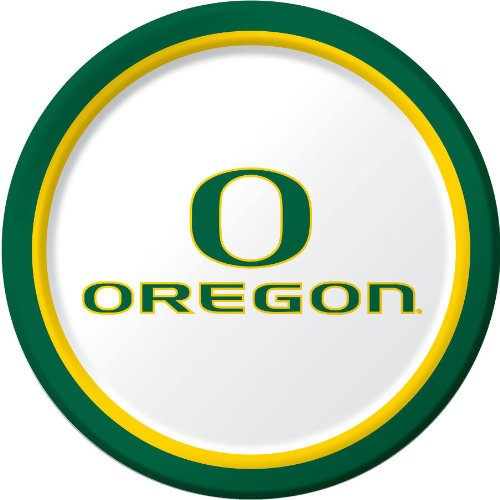 University of Oregon Dinner Plates - 1
