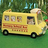 Sylvanian Families Nursery School Bus From Debenhams