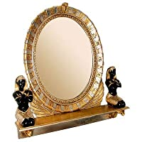 Design Toscano NE64386 King Amenhotep Egyptian Vanity Mirror Statue from Design Toscano