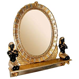 Design Toscano NE64386 King Amenhotep Egyptian Vanity Mirror Statue from Design Toscano