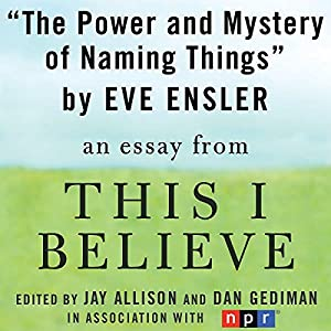 The Power and Mystery of Naming Things Audiobook