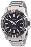 Seiko Men's Diver 200m, Solar Power, Stainless Steel SNE295P1