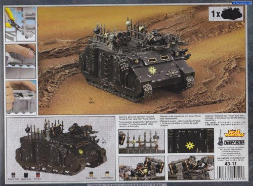 Chaos Space Marines: Chaos Rhino (2014) (Chaos Space compare prices)