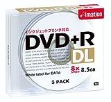 イメーション DVD+R DL PCデータ用 8.5GB プリンタブルホワイトプラケース入り3枚 DVD+R8.5PWCx3J