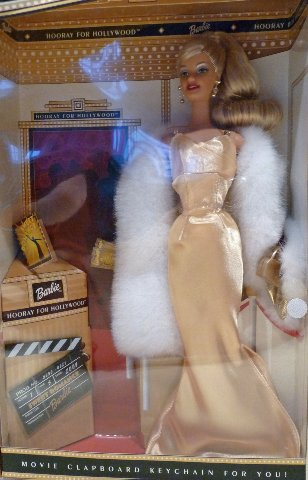 2002 Hooray for hollywood White Barbie doll NEW MINT in box