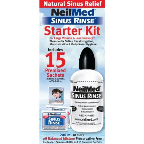 Neilmed Sinus Rinse Starter Kit (5 packets)