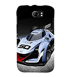 PRINTSWAG CAR Designer Back Cover Case for MICROMAX A110 CANVAS 2