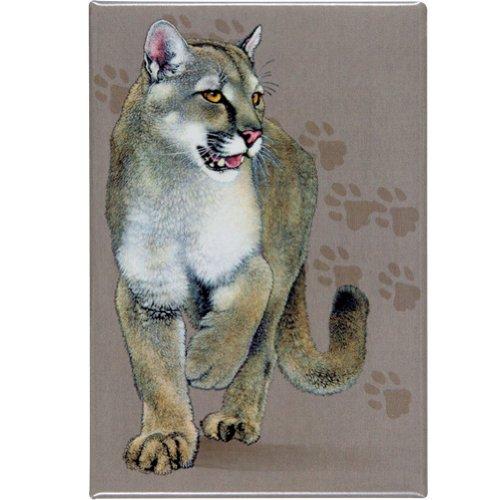 Animal World - Cat Trax Refrigerator Magnet - Tan front-636231