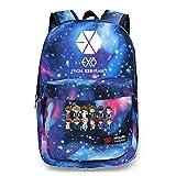 KPOP EXO-K EXO-M Backpacks Overdoes XOXO Wolf Schoolbag Luhan Kris Starry Sky Satchel (EXO)