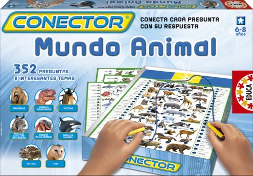 Educa Borrás 14920 - Conector Mundo Animal