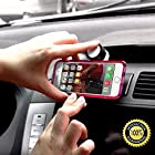 Cell Phone Holder For Car & GPS, Gifts For Men & Women - Completely Hands Free, Perfect As A Desk Stand For LG G2/G3, iPhone 4 4S 5 5C 5S 6, Android, Samsung Galaxy S3 S4 S5, Nokia Lumia 1020 925 928 920, BlackBerry Q10 Q5 Z30 Z10, Garmin eTrax - With 360 Degree Rotation For Portrait & Landscape Views - Fits Most Makes & Model Cars - Strong And Extremely Lightweight - 100% Satisfaction Guarantee