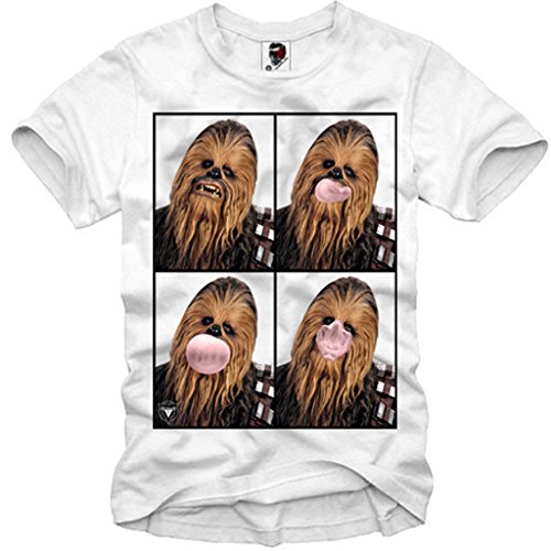 E1SYNDICATE T-SHIRT WOOKIE CHEWBACCA DARTH VADER TROOPER SHIT HAPPENS BOBA S-XL