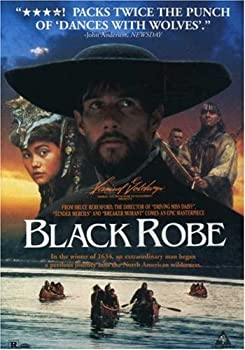 "Cover of ""Black Robe"""