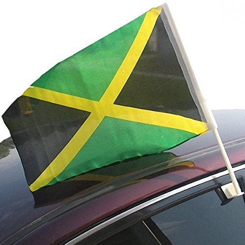jamaican car flag you have music of your homeland reggae gold legend bob marley dylan. Black Bedroom Furniture Sets. Home Design Ideas